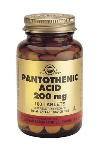 Pantothenic Acid 200mg