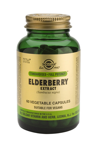Elderberry Extract (SFP) 60 Veg. Capsules