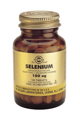 Selenium 100µg (Yeast Free)