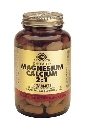 Chelated Magnesium Calcium 2:1 90 Tablets