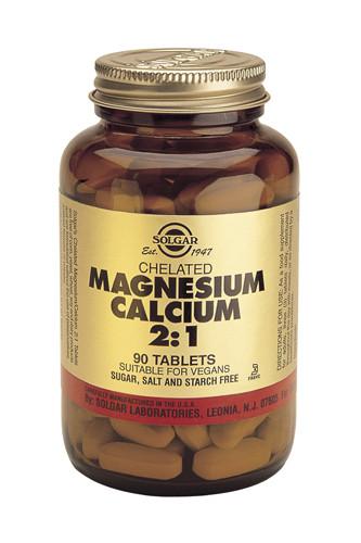 Chelated Magnesium Calcium 2:1 90 Tablets
