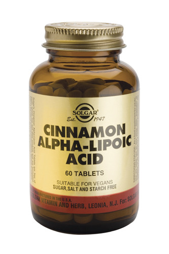 Cinnamon Alpha-lipoic Acid 60 Tablets