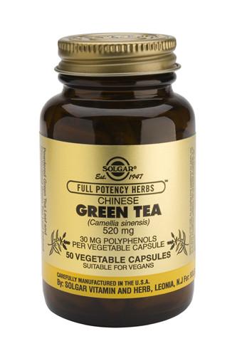 Green Tea 50 Veg. Capsules