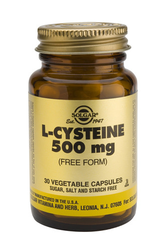L-Cysteine 500mg 30 Veg. Capsules