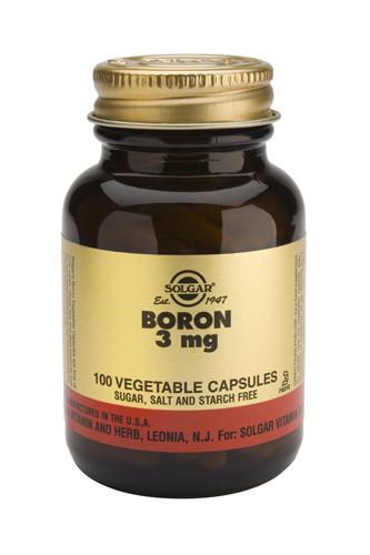 Boron 3mg 100 Veg. Capsules
