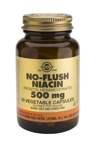 No-Flush Niacin 500mg