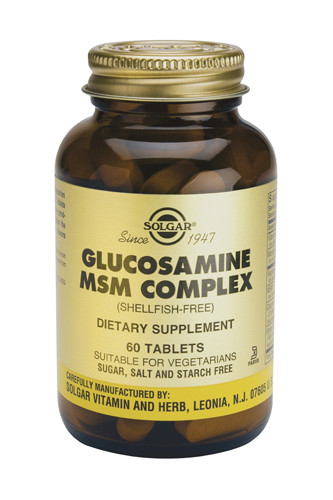 Glucosamine MSM Complex 60Tablets