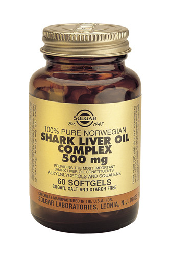 Shark Liver Oil 500mg