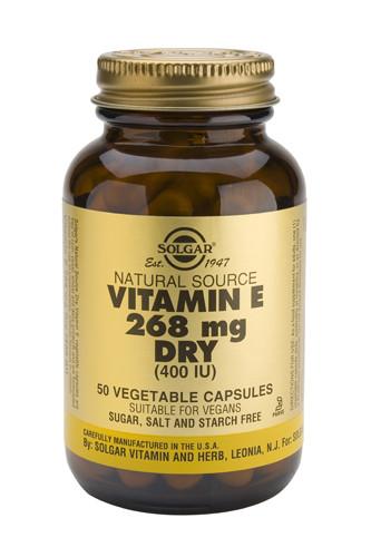 Vitamin E 400 IU Dry