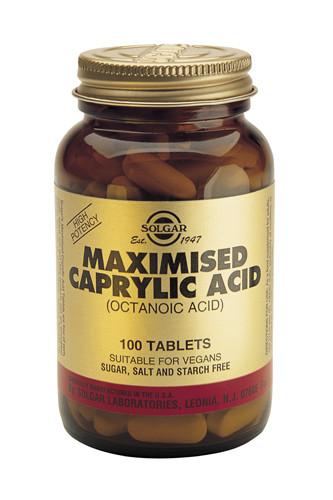 Caprylic Acid (Maximised) 100 Tablets