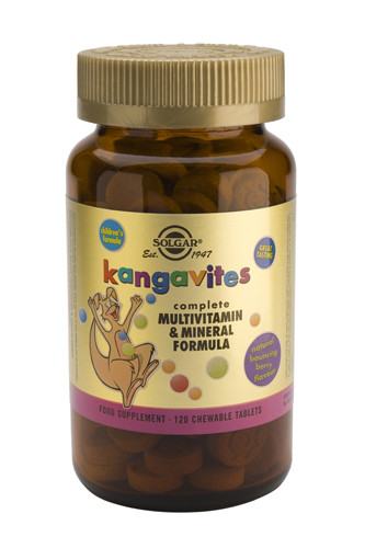 Kangavites Chewable Multivitamin (Berry Flavour)