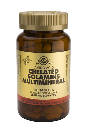 Chelated Solamins