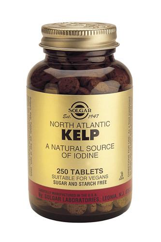 Kelp 225µg (Iodine) 250 Tablets