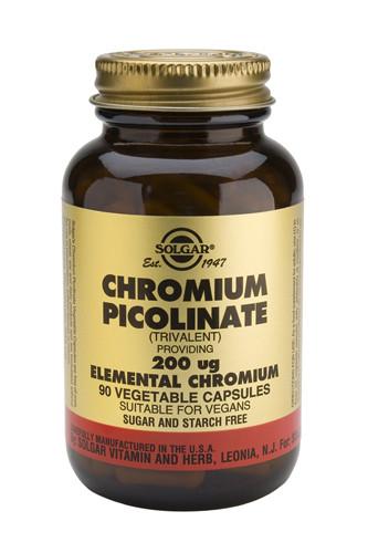 Chromium Picolinate 200µg 90 Veg. Capsules