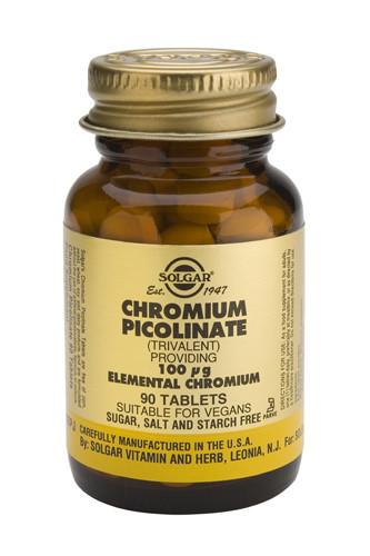 Chromium Picolinate 100µg 90 Veg. Capsules