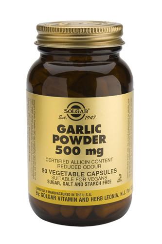 Garlic Powder 500mg 90 Veg. Capsules