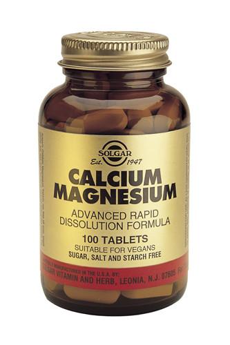Calcium/Magnesium 100 Tablets