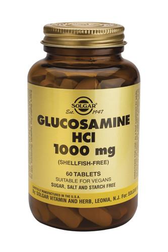 Glucosamine HCl 1000mg 60 Tablets