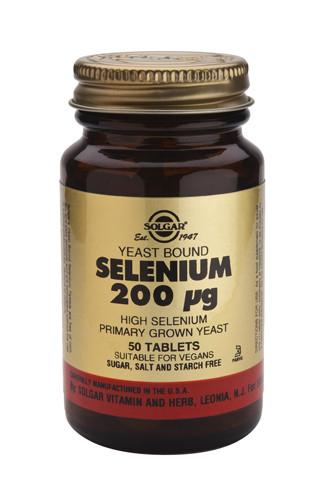 Selenium 200µg (Yeast Bound)