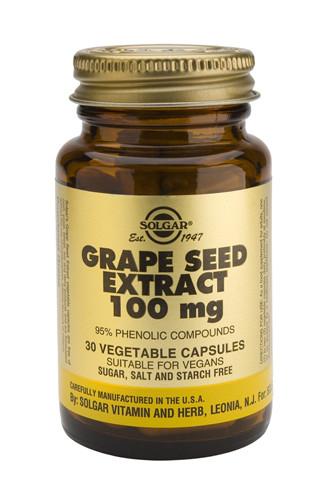 Grape Seed Extract 100mg 30 Veg, Capsules
