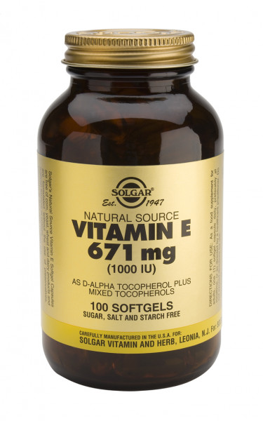 Vitamin E 1000IU Mixed