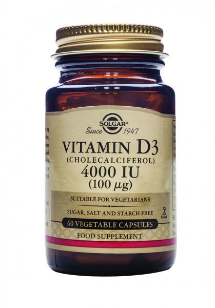 Vitamin D3 (Cholecalciferol) 4000 IU (100 µg)