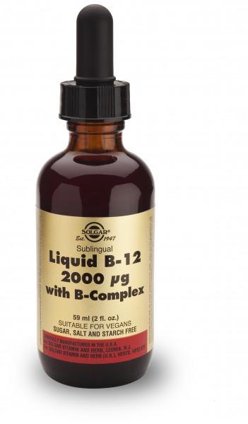 Liquid B-12 2000µg mit B-Complex