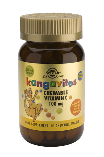 Kangavites Chewable Vitamin C 100mg 90 Kautabletten